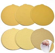 Utoolmart 6-inch PSA Sanding Discs 5 Each of 80# 100# 120# 180# 240# 400# Self Stick Adhesive Back Aluminum Oxide Sandpaper for Random Orbital Sander Wood Metal Auto Dry Polishing 30pcs