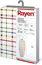 Rayen 6117 ütü masası kılıfı, güvenlik kilitli, XXL, 55 x 150 cm, çeşitli renklerde