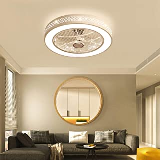 36W Ceiling Fan Light Fixture Industrial, LED Dimmable...
