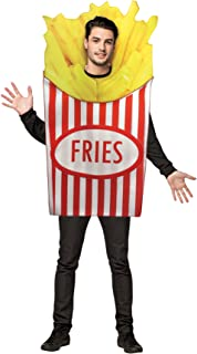 French Fries Foodie Fast Food Costume Red And White Fancy Dress Rasta Imposta