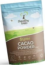 TheHealthyTree Company Cacao Crudo Orgánico en Polvo - Proteínas, Magnesio, Fibra y Potasio - Excelente en yogurt, batidos y para hornear - Cacao en polvo puro (500g)