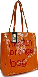 Bolsa reutilizable para la compra, almuerzo o picnic, de hule o PVC, tamaño pequeño o mediano