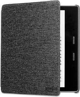 Funda Amazon de tela que protege del agua para Kindle Oasis , negro antracita — únicamente compatible con el modelo de la ...