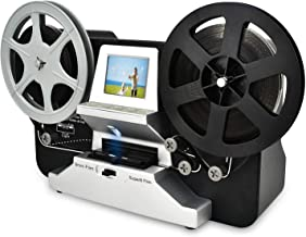 8mm & Super 8 Reels to Digital MovieMaker Film Sanner,Pro Film Digitizer Machine with 2.4