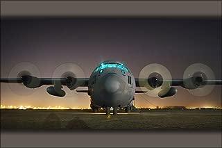 20x30 Poster; Air Force C-130 Hercules, Sather Air Base, Iraq, April 19, 2006