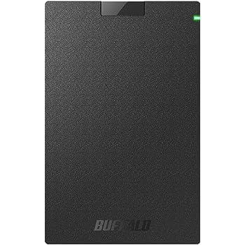 BUFFALO USB3.1Gen1 ポータブルSSD 1TB 日本製 PS4(メーカー動作確認済) 耐衝撃・コネクター保護機構 SSD-PG1.0U3-B/NL
