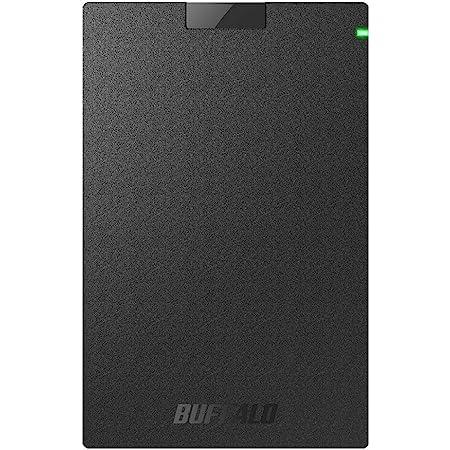 BUFFALO USB3.1Gen1 ポータブルSSD 1TB 日本製 PS5/PS4(メーカー動作確認済) 耐衝撃・コネクター保護機構 SSD-PG1.0U3-B/NL