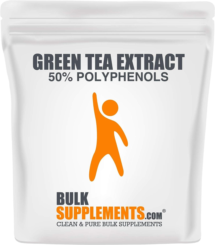 Discount mail order BulkSupplements.com Green Tea 50% Ranking TOP18 Polyphenols - Powder