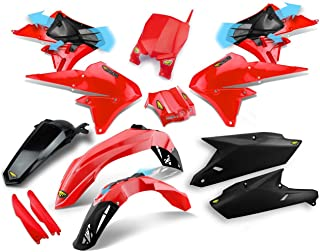 Cycra 14-18 Yamaha YZ250F Powerflow Plastic Kit (RED)