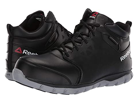 5585f317884949 Reebok Work Sublite Cushion Work Mid Comp Toe EH at Zappos.com