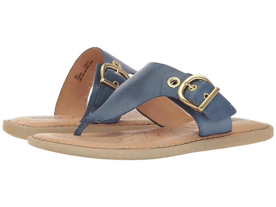 Born Orla (Navy Full Grain Leather) Women's Shoes