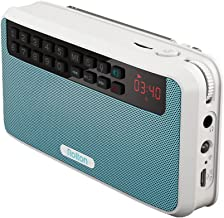 Rolton E500 Portable Stereo Bluetooth Speakers FM Radio Clear Bass Dual Track Speaker TF..