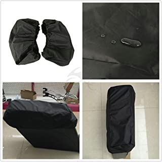 TCMT New Nylon Waterproof Lid Covers Audio Speaker Lids Fits For Harley Touring Saddlebags
