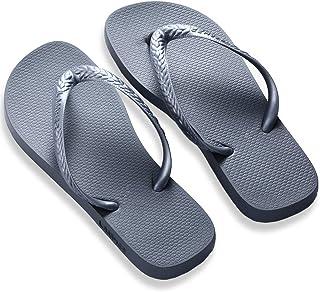 [Lamher] ビーチサンダル メンズ シューズ スリッパ 滑り止め 夏 海辺 浴室 ブラック/グレー/ネイビー
