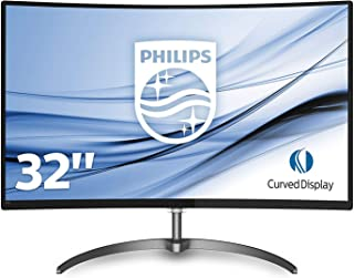 "Philips 328E8QJAB5 32"" C Line Curved Monitor"