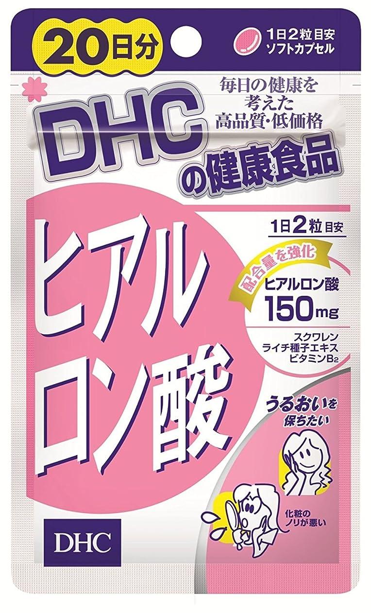 レイ伝導率九時四十五分【DHC】ヒアルロン酸 20日分 (40粒)(新) ×10個セット