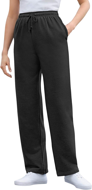 Woman Within Women's Plus Size Better Fleece Sweatpant Pant