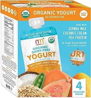 NurturMe Organic Dairy Free Yogurt, Sweet Potato + Mango + Guava, 3.5 Ounce (Pack of 4)