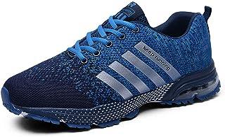 Lloopyting - Zapatillas de Deporte Unisex de Malla Transpirable, para Correr, Caminar, Fitness, Correr, Entrenamiento, Gimnasio, Zapatos de Tenis Suaves