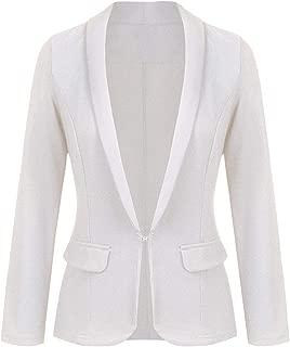 Women's Work Office Blazer Long Sleeve Classic Open Front Jacket Suit