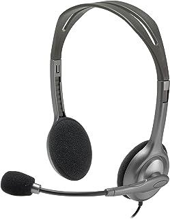 Logitech - H111 - Diadema 3.5 mm con Micrófono - Gris
