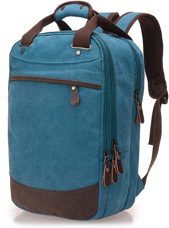 ZHUXINHAO College Wind Shoulder Bag Rucksack, Student Bag, Computer Bag, Leisure Tour Bag (color   Sky blueee, Size   25cm15cm40cm)