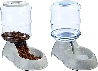 The Humane Society Self-Dispensing Gravity Pet Feeder & Waterer Set