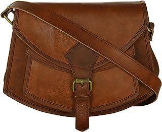 5e28bad4d6 Vintage Leather Cross Body Bag Shoulder Sling Handcrafted Leather Bag