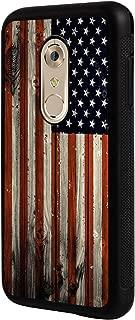 Axon 7 Mini Case,BOSLIVE American Flag on Wood Background Design TPU Slim Anti-Scratch Protective Cover Case for ZTE Axon 7 Mini