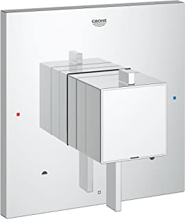 Grohflex Cosmo Square Dual Function Pressure Balance Trim With Control Module