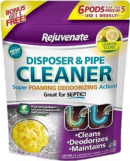 Rejuvenate RJ6DPC Disposer and Pipe Cleaner 6-Pack