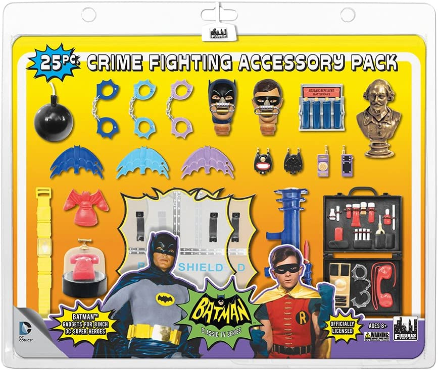 Batman Classic TV Series 25 Fighting Crime Pack Piece Los Angeles service Mall Accessory