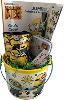 Despicable Me Minion Gift Basket Set for Kids Toys Figure Fun Activities