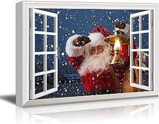 Best santa claus window painting Reviews