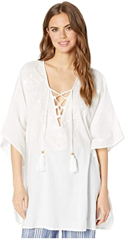 22fe9e9c85 Bindya double tassel lace up tunic | Shipped Free at Zappos