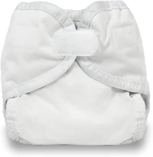 Thirsties Diaper Cover with Hook and Loop, White, X-Small (Discontinued by Manufacturer)