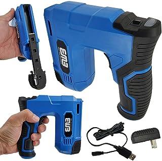 EMB Cordless Staple Gun, 4V Power Brad Nailer/Staple Nailer Electric Stapler with Charger Included USB Main Plug, a Chargi...