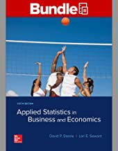 GEN COMBO LL APPLIED STATISTICS IN BUSINESS & ECONOMICS; CONNECT ACCESS CARD