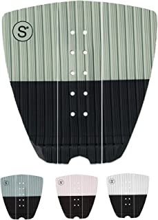 SYMPL Surfboard Traction Pad • 3 Pieces • Maximum Grip, 3M Adhesive for Surfboard, Skimboard, Longboard