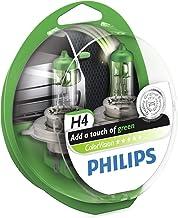 Philips ColorVision Bombilla para faros delanteros verde 12342CVPGS2 - bombilla para coches (60W, H4/H7, Fog light, High beam, Luz interior, Low beam, Side turn signal, Signaling, Stop light)
