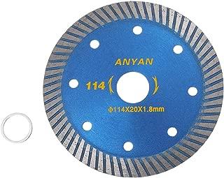 2TRIDENTS 4.5 inch Diamond Ceramic Saw Blade Disc - Diamond Blade for Cutting Ceramic Tile, Porcelain Tile, Stone & Similar Materials