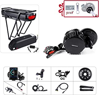 Greenergia Mid Drive Eletric Bike DIY Kit BAFANG BBSHD 48V/52V 1000W Motor with Battery(Optional) and Charger for Hydrauli...