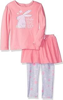 Girl's Standard Shirt and Tutu Legging Set