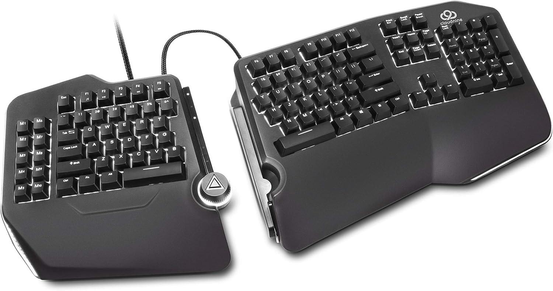 Cloud Nine C989M Ergonomic Mechanical Keyboard Brown MX Max 80% OFF Over item handling - Cherry
