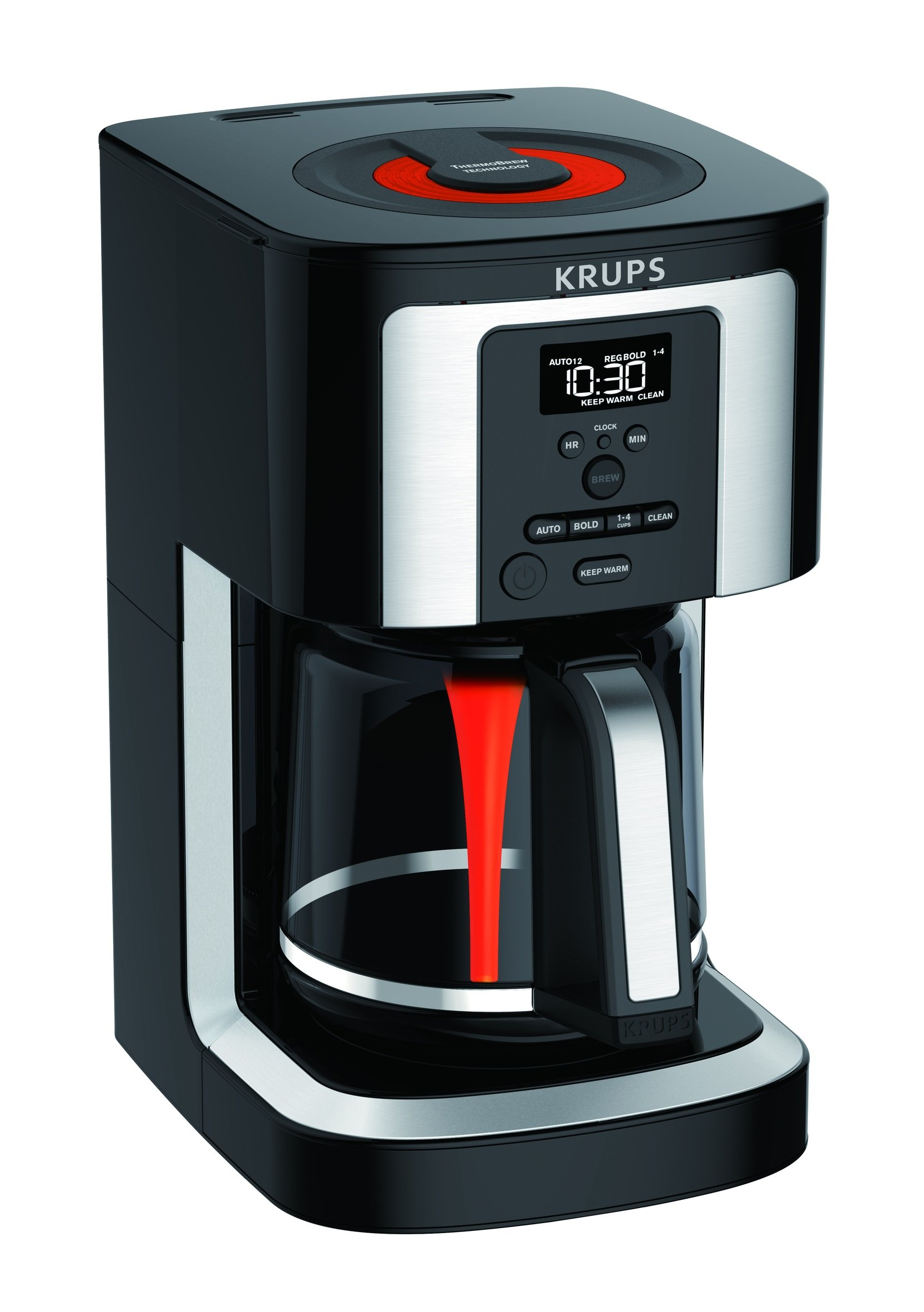 KRUPS Programmable Professional Thermobrew Technology