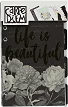 Carpe Diem by Simple Stories Personal Beautiful Monthly Planner Inserts