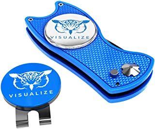 VISUALIZE Talon Premium All-Metal Switchblade-Style Divot Repair Tool – Add to Your..