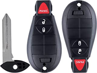 $25 » 3Button Key Fob fits for Chrysler Town and Country 08-2018,Chrysler 300 08-2010,Dodge Charger/Durango/Ram/Challenger 08-20...