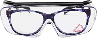 SAFE HANDLER Duarte Premium Over Glasses | ANSI Z87.1, Impact Resistant Polycarbonate Lens, UV400, Anti-Fog & Anti-Scratch (1 Pair)