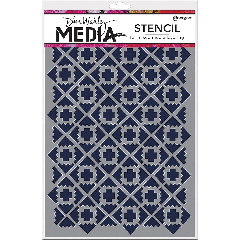 Ranger MDS52401 Dina Wakley Media Stencils 9